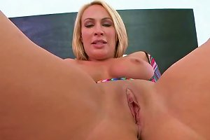 A Milf Gets Her Daily Dose Of Cum Shots