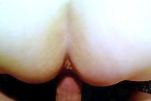 Hubby Does Me Doggy Till I Cream His Cock