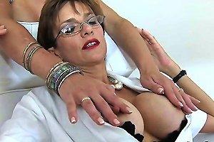 Unfaithful British Mature Lady Sonia Presents Her Big Jugs