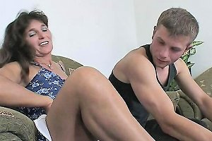 Mama Rewards Two Boys Hard Work With Hot Dp Anal Action