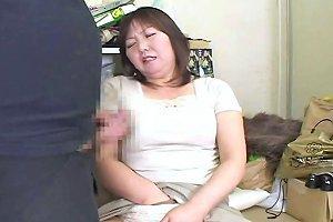 1fuckdatecom Japanese BBW Mature Masterbatio