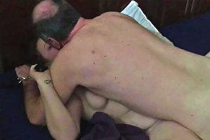 Old Man Plowing Youg Wife Missionary
