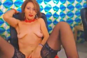 Hot Russian Mature Fingering Her Pussy
