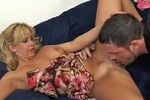 Hot Blonde Milf Gets A Mouthful Free Porn F8 Xhamster